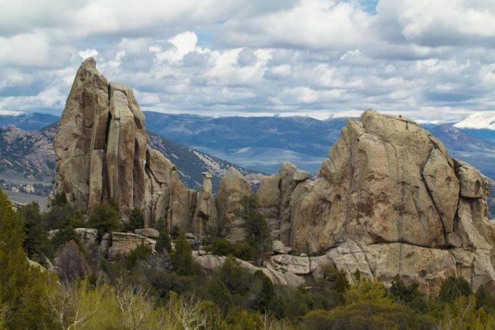 Large rock at City of Rocks.