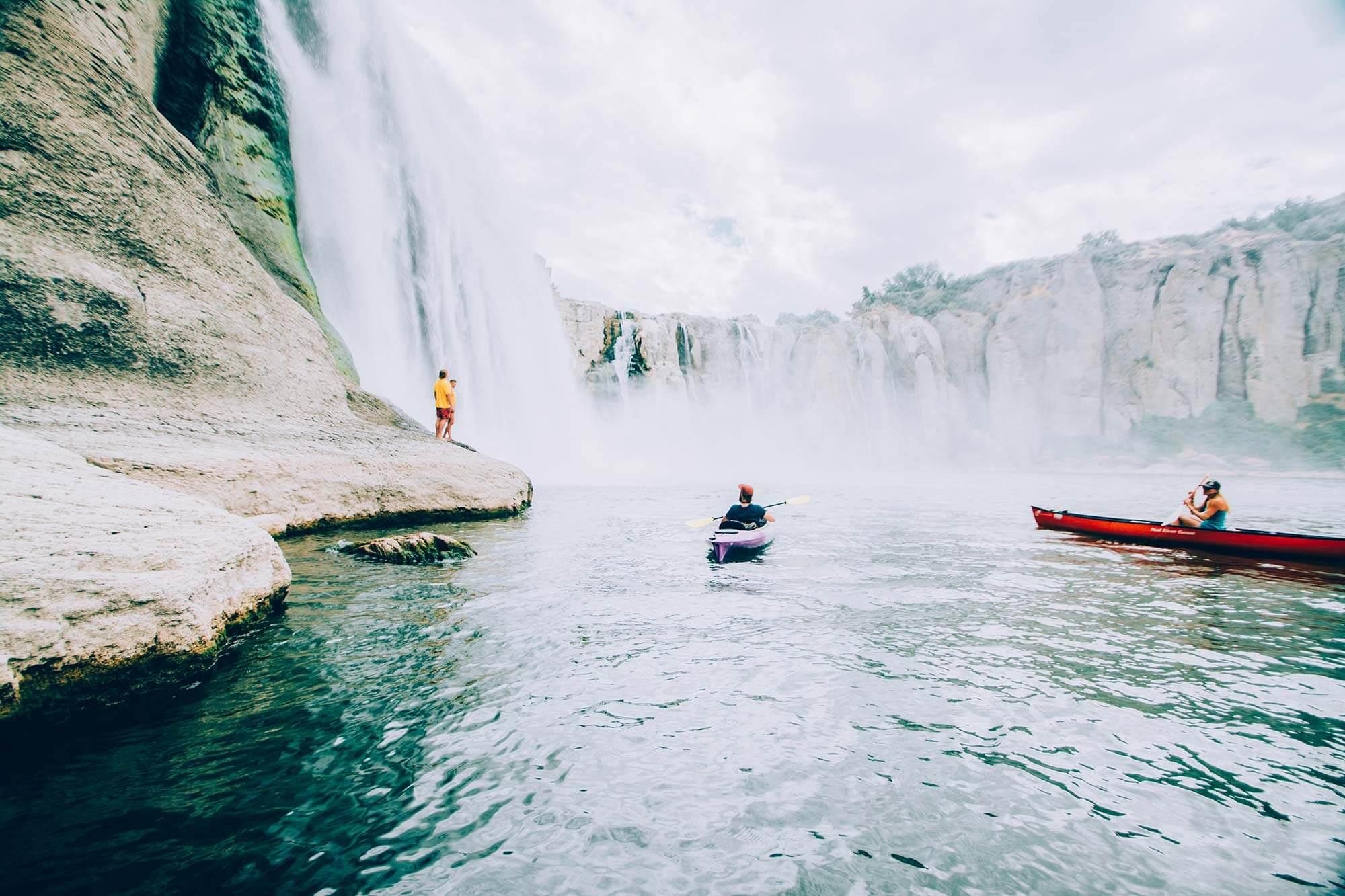 Shoshone Falls, Near Twin Falls. Photo Credit: Idaho Tourism