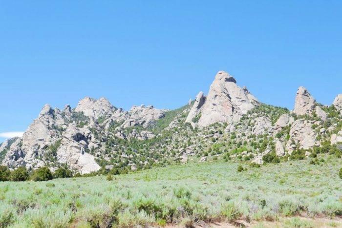 rock formation in City of Rocks