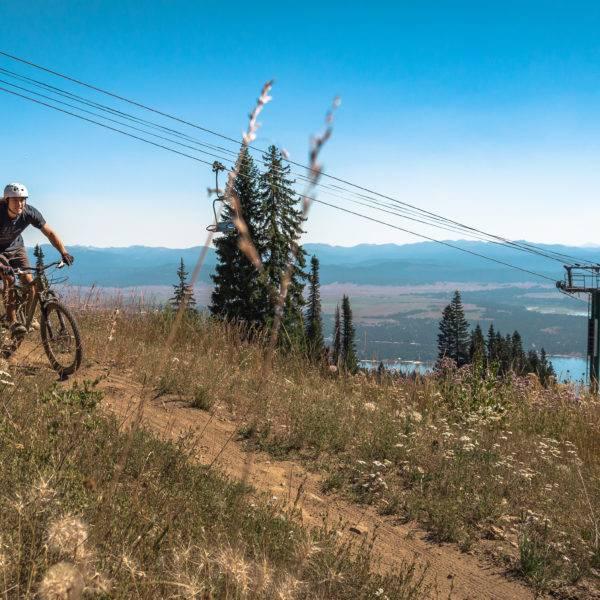 Experience A Mountain Rush on a Run at Tamarack's Bike Park