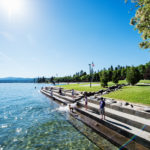 City Park & Beach, Coeur d'Alene. Photo Credit: Idaho Tourism