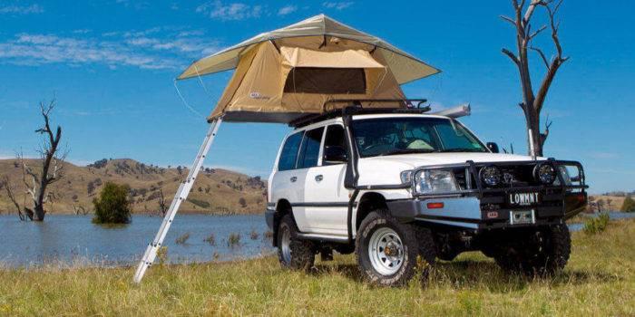 Car-Top Tent. Photo Credit: Popular Mechanics