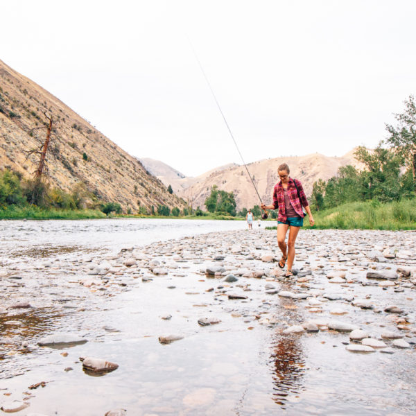 An Idaho Fly Fishing Lesson & A Recipe for Your Catch