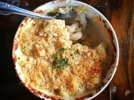 Scoop up a spoonful of delicious mac and cheese from Nectar.