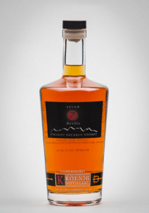 Seven Devils Straight Bourbon Whisky from Koenig Winery and Distillery