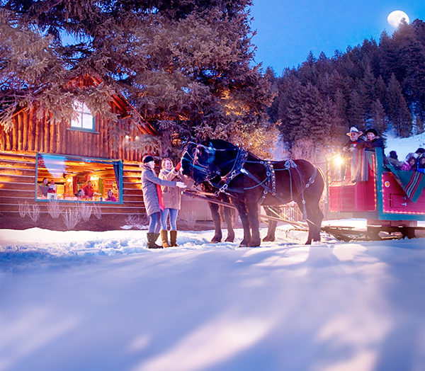 Sun Valley Sleigh Ride, Sun Valley. Photo Credit: Sun Valley Resort
