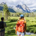 Hiking Fishhook Creek Trail near Redfish Lake. Photo Credit: Idaho Tourism