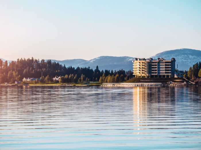 Lake Coeur d'Alene. Photo Credit: Idaho Tourism