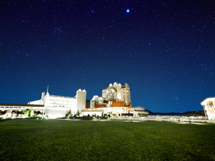 Night Sky, The Coeur d'Alene Resort, Coeur d'Alene. Photo Credit: Idaho Tourism