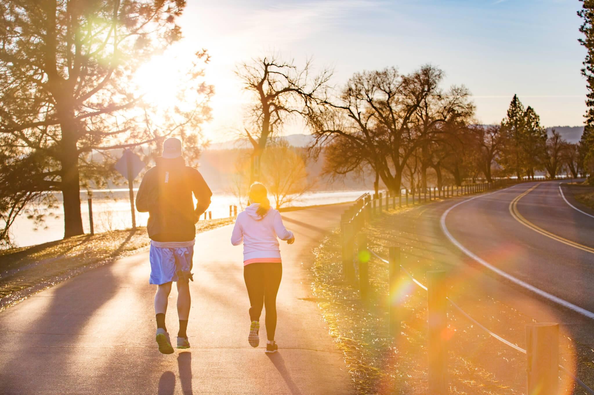 Running, Coeur d'Alene. Photo Credit: Idaho Tourism