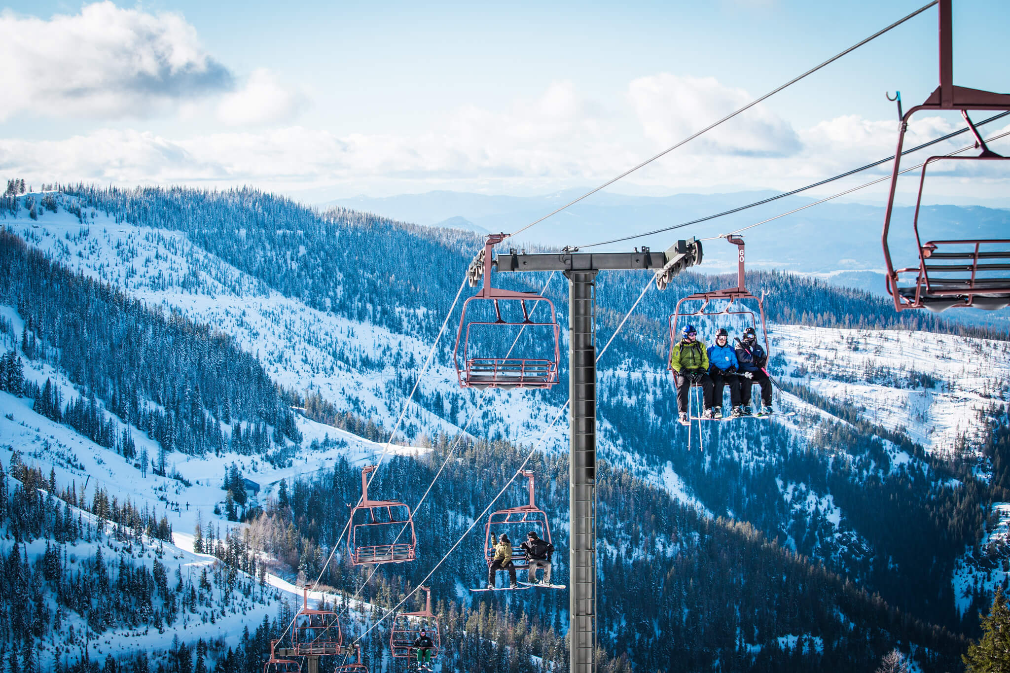 Skiing, Silver Mountain Resort Lodge, Kellogg