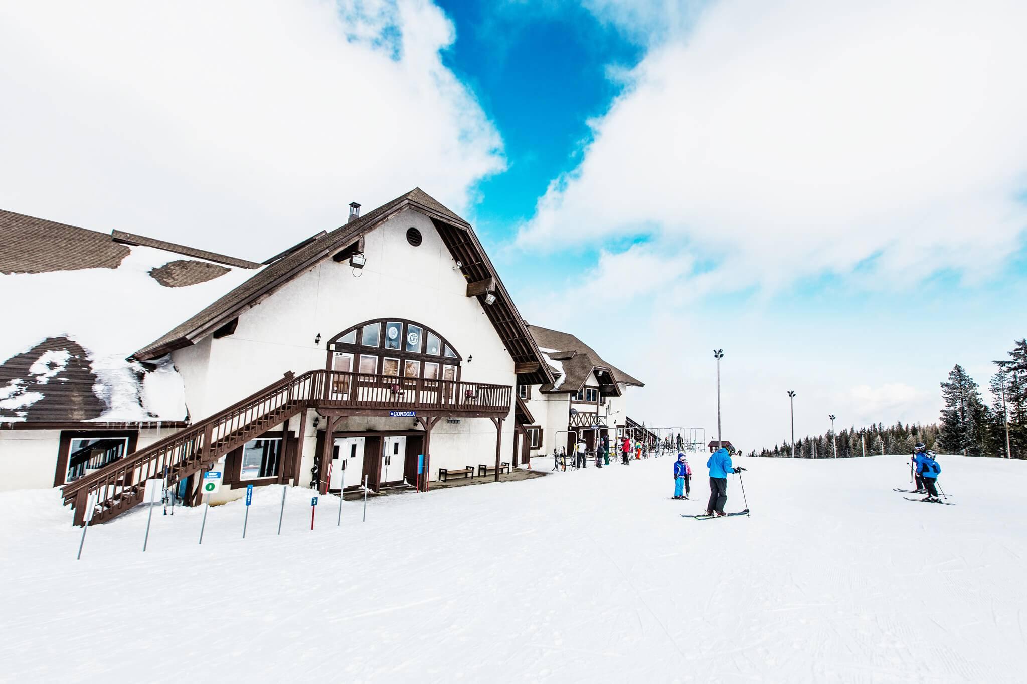 Skiing, Silver Mountain Resort Lodge, Kellogg,