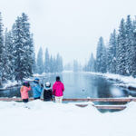 Snowmobiling, Big Springs, Island Park. Photo Credit: Idaho Tourism