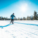 Snowshoeing, Harriman State Park. Photo Credit: Idaho Tourism.