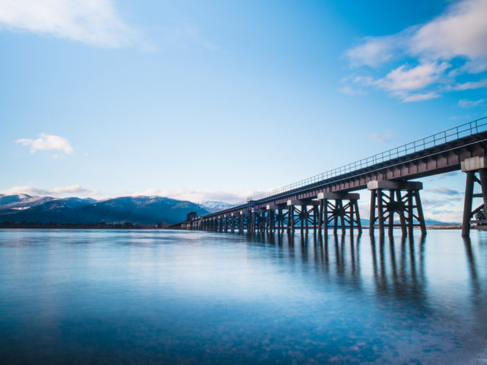 Train Bridge, Sandpoint. Photo Credit: Idaho Tourism