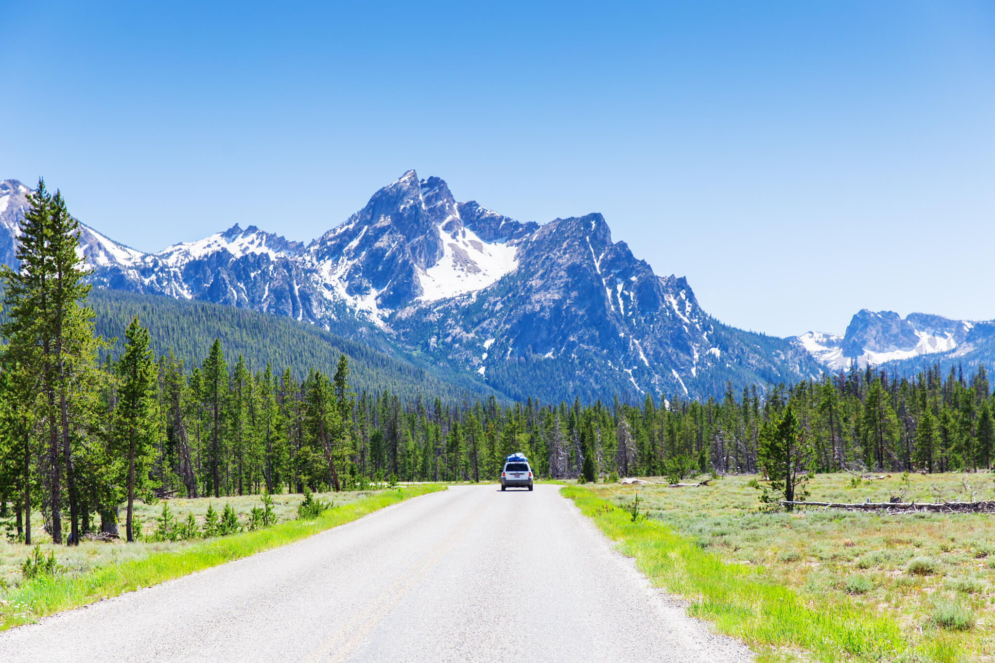 A view of McGown Peak near Stanley. Photo Credit: Idaho Tourism