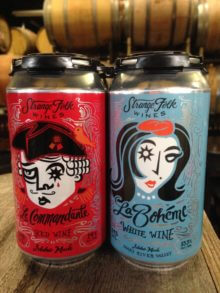 La Boheme & Le Commandante Idaho Made Wine in a Beer Can