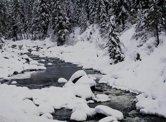 Ice Fishing in Cascade. Photo Credit: Idaho Tourism