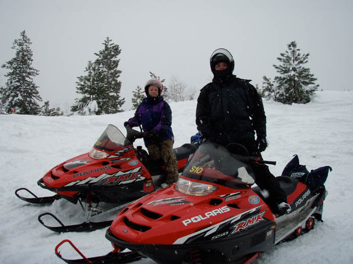 Snowmobiling Southeast Idaho. #ForTheWinter Submission: Jennie Myers