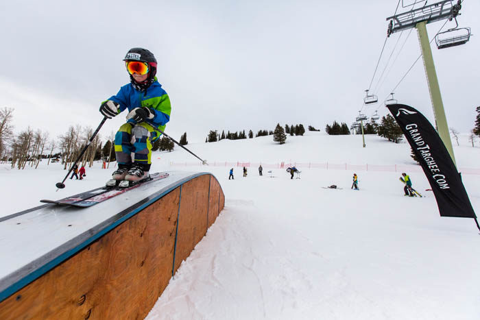 Skiing at Grand Targhee Ski Resort. Photo Credit: Ski Idaho