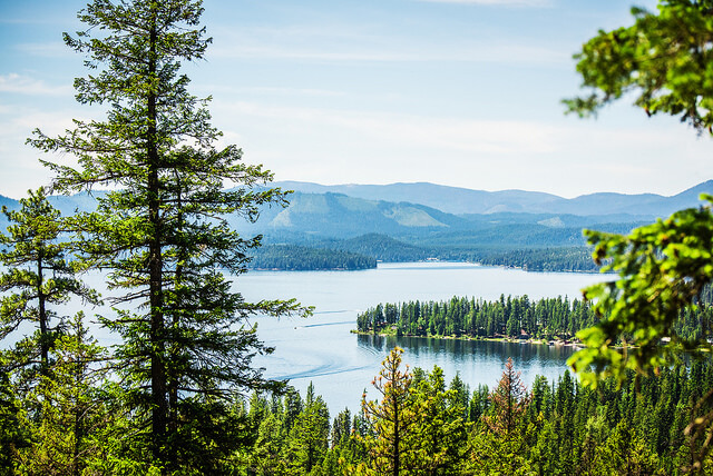scenic view of Priest Lake State Park
