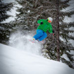 Snowboarding at Bald Mountain Ski Area. Photo Credit: Ski Idaho
