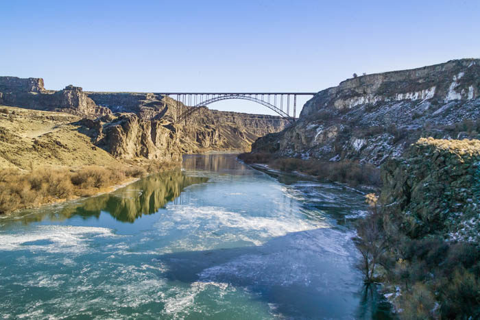 Perrine Bridge, Twin Falls. Photo Credit: Blip Printers