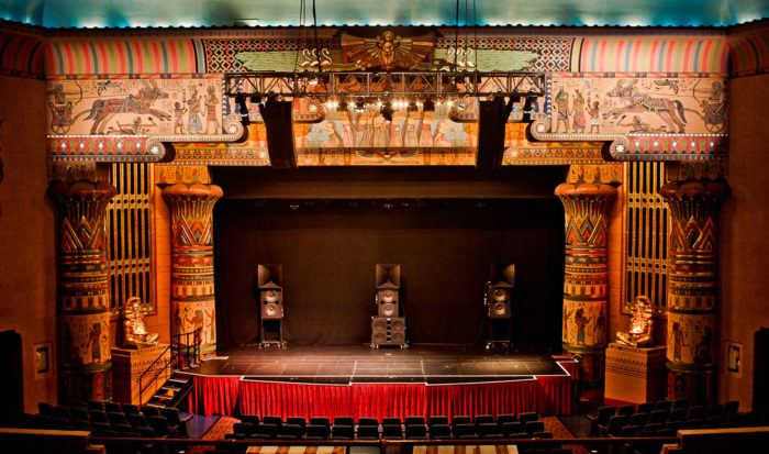 The Egyptian Theatre.