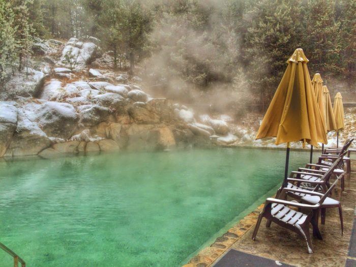 Gold Fork Hot Springs, Near McCall. Photo Credit: Gold Fork Hot Springs