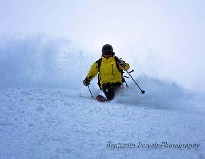 Skiing at Magic Mountain Resort. Photo Credit: Ski Idaho