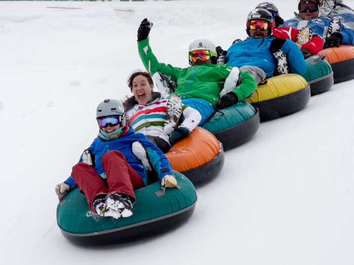 Tubing at Magic Mountain Resort. Photo Credit: Ski Idaho
