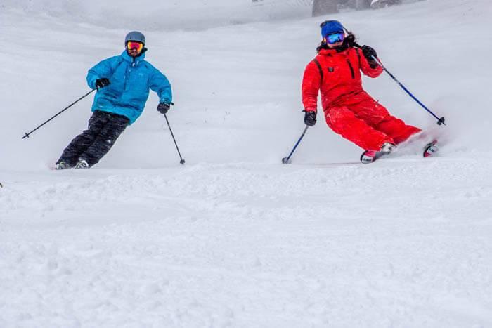 Skiing at Pebble Creek Ski Area. Photo Credit: Ski Idaho