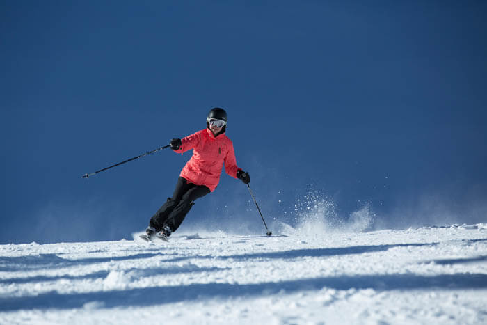 Skiing at Pomerelle Mountain Resort. Photo Credit: Ski Idaho