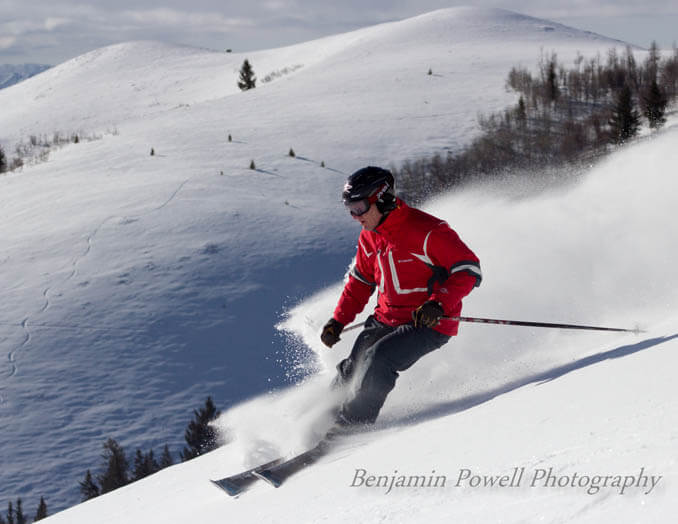 Skiing at Soldier Mountain Ski Area. Photo Credit: Ski Idaho