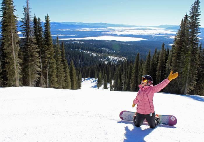 Skiing at Brundage Mountain Resort. Photo Credit: Ski Idaho