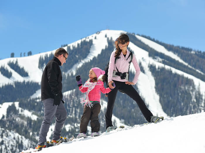 Snowshoeing, Sun Valley. Photo Credit: Visit Sun Valley