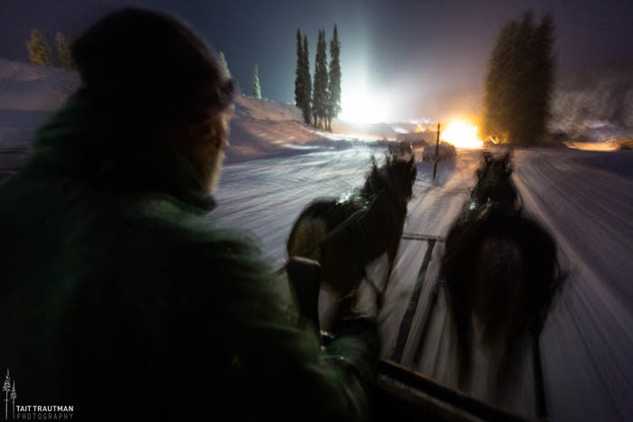 Sleigh Rides, Grand Targhee Ski Resort. Photo Credit: Ski Idaho