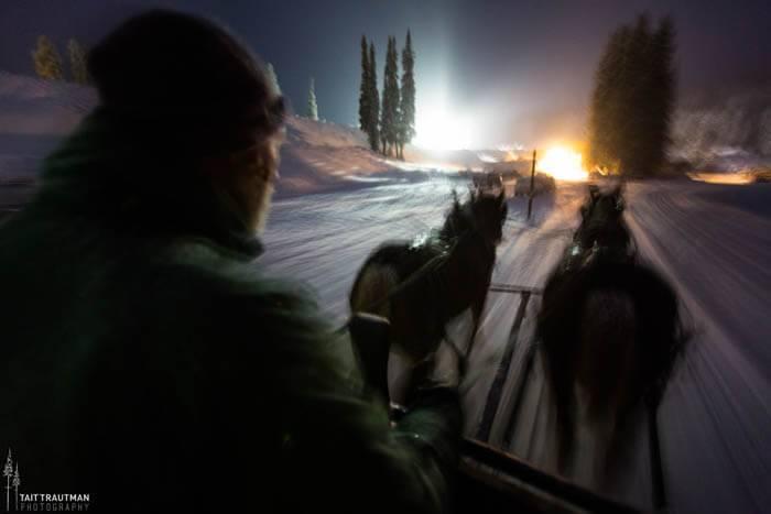 Sleigh Rides, Grand Targhee Ski Resort. Photo Credit: Ski Idaho