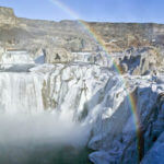 Shoshone Falls in the winter. Photo Credit: Blip Printers