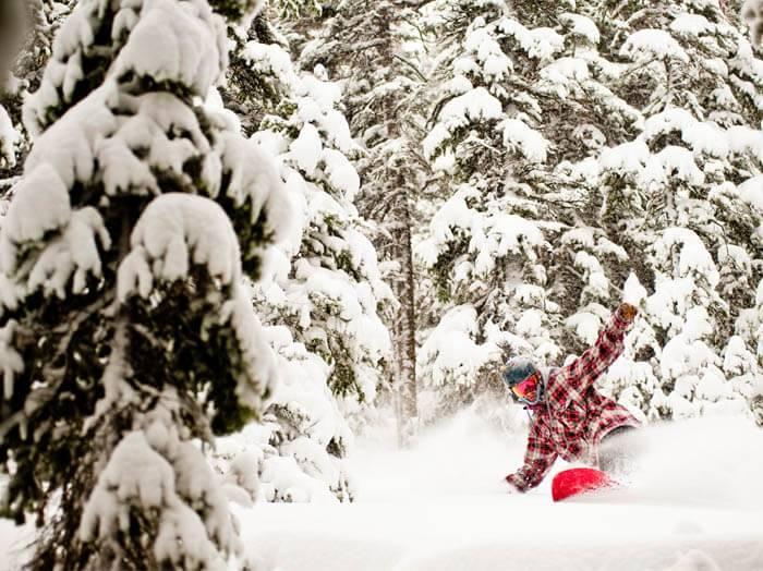 Snowboarding, Sun Valley. Photo Credit: Visit Sun Valley