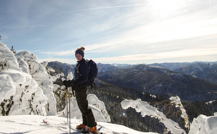 Skiing in Central Idaho. #ForTheWinter Submission: Andrew Keenan