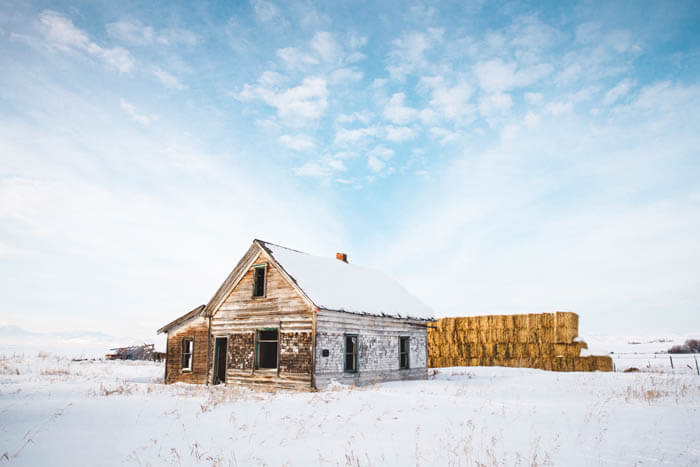 Barn, Chesterfield. Photo Credit: Idaho Tourism