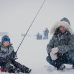 Ice Fishing on Cascade Reservoir. Photo Credit: Idaho Tourism