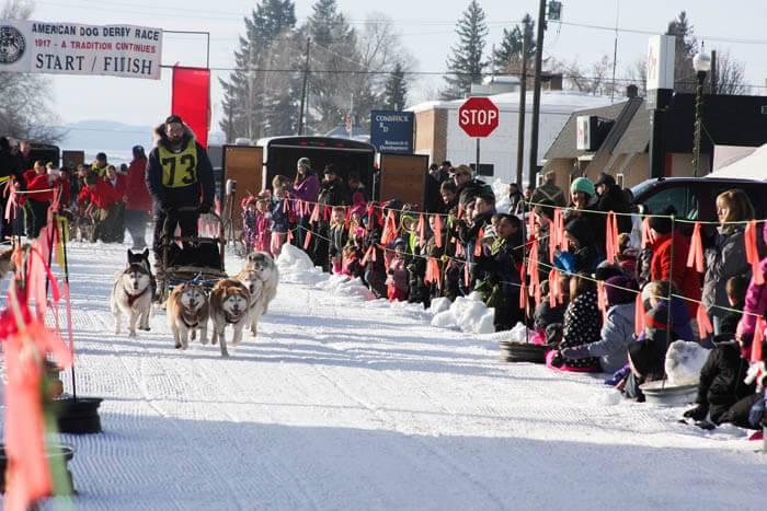 American Dog Derby, Ashton. Photo Credit: Idaho Tourism