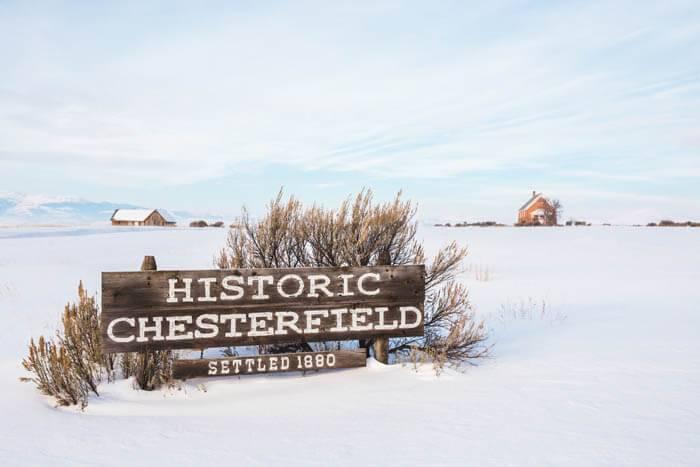 Historic Chesterfield. Photo Credit: Idaho Tourism
