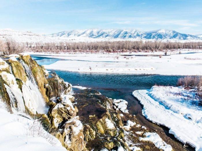 Fall Creek Falls, Swan Valley. Photo Credit: Idaho Tourism