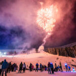 Fireworks, Sandpoint Winter Carnival, Schweitzer Mountain Resort. Photo Credit: Idaho Tourism