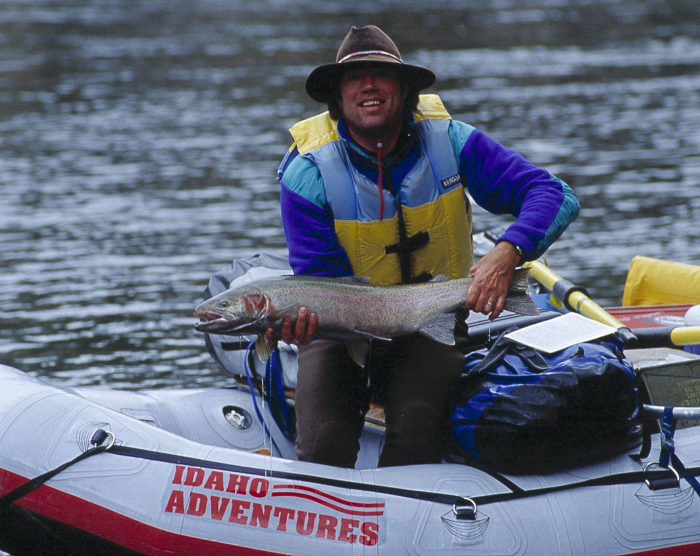 Fish on! Photo Credit: Idaho Adventures.
