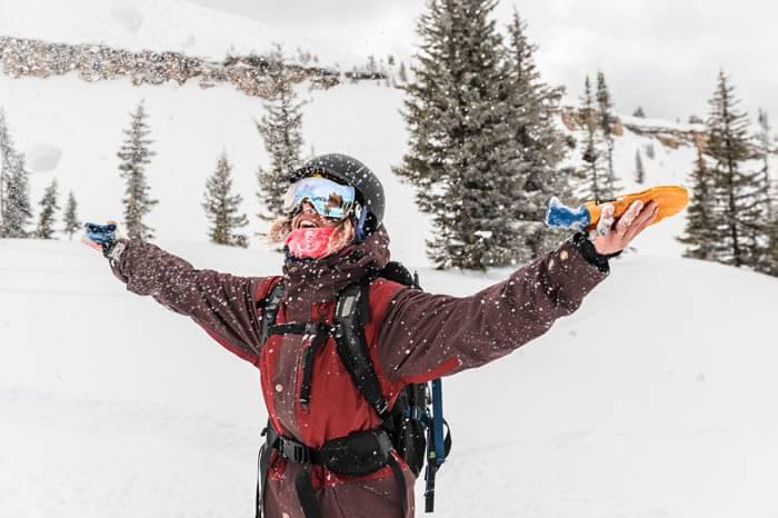 Skiing at Grand Targhee Ski Resort. Photo Credit: Ski Idaho