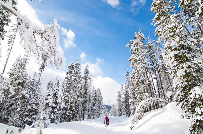 Exploring Central Idaho in the Winter. #ForTheWinter Submission: Ian Sherrow